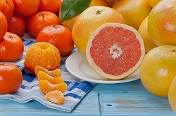 Tangerines & Grapefruit